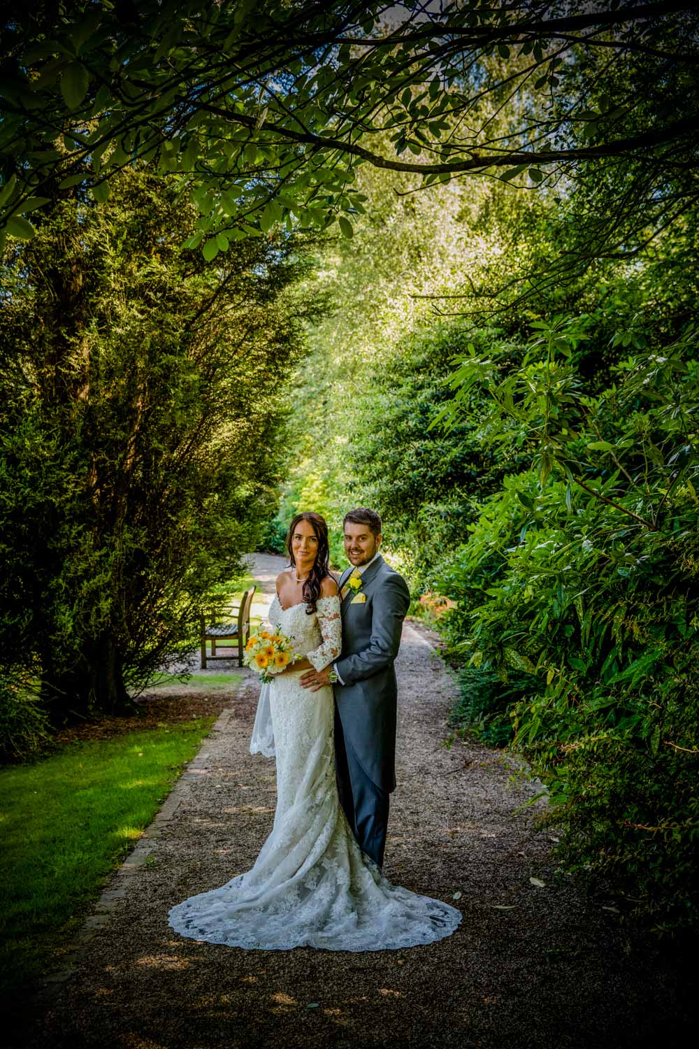 Wedding photoshoot in Cheshire