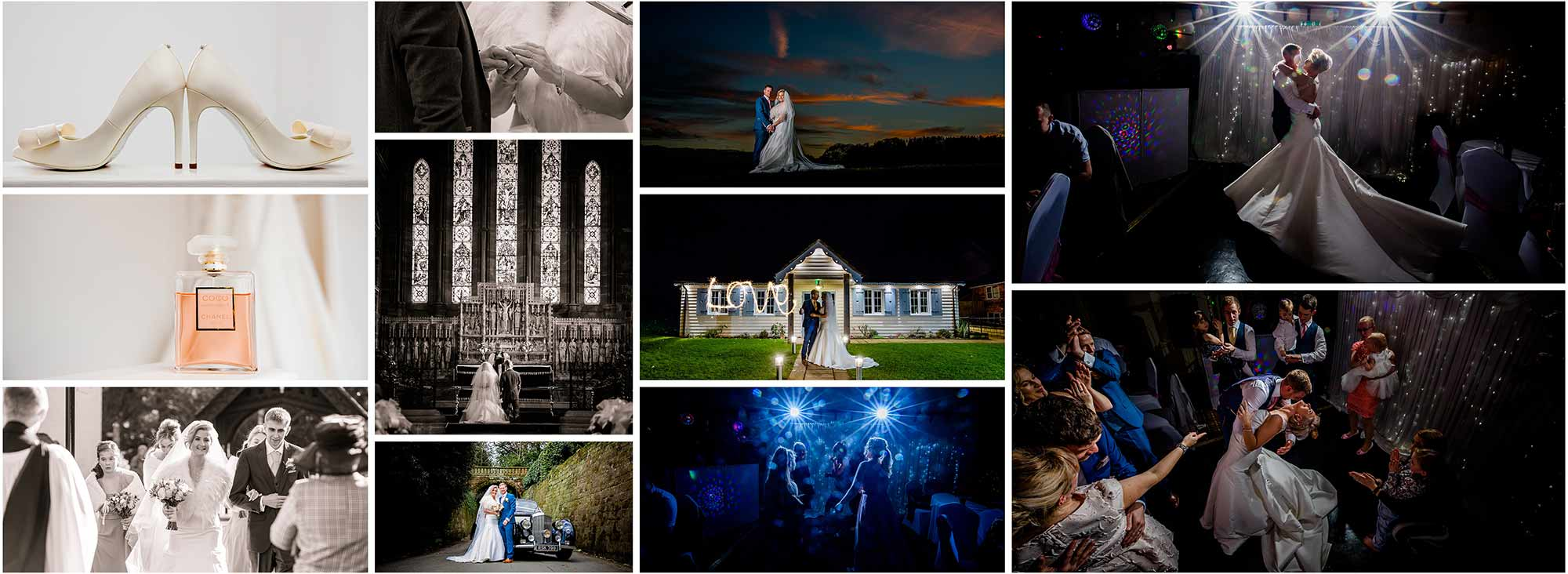 Wedding photography in Cheshire, Staffordshire and Shropshire